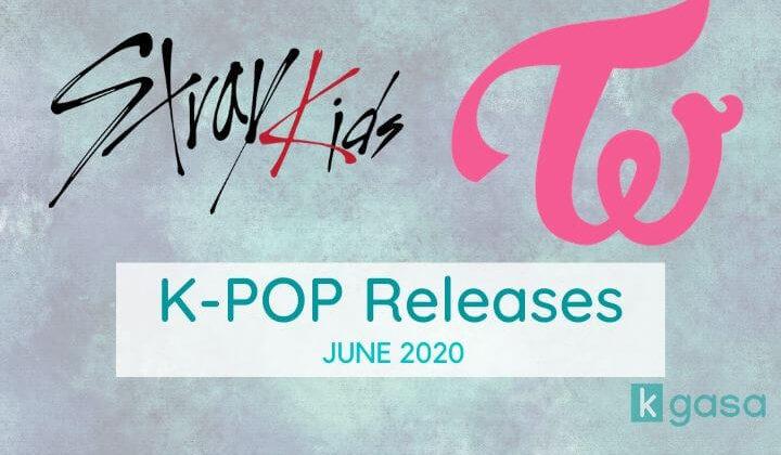KPop releases june 2020