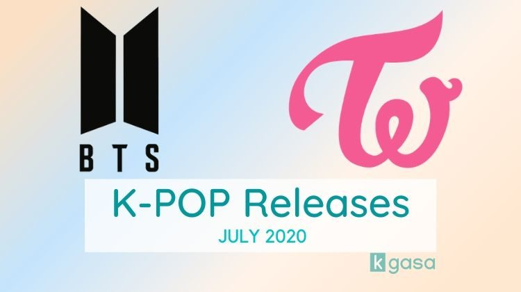 Kpop releases july 2020
