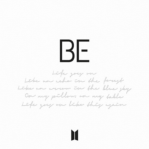 BTS - BE mini album