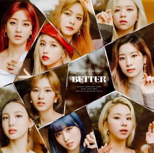 TWICE - BETTER - EP
